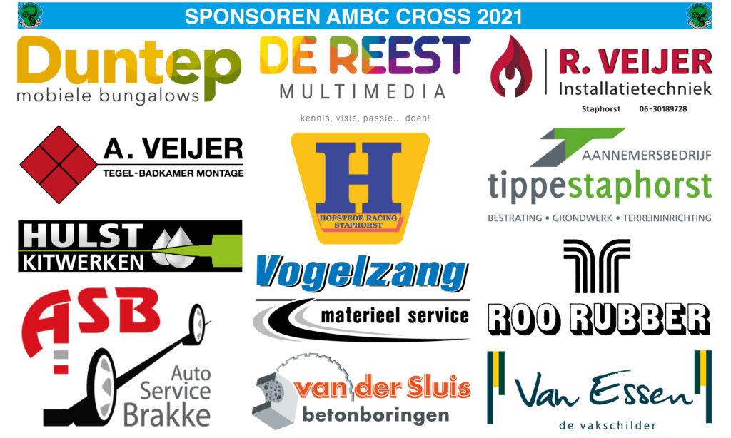 Sponsorbord Cross 2021