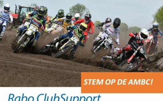 AMBC doet mee aan Rabobank clubsupport